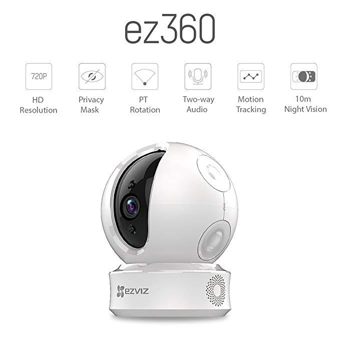 Camera Wifi Xoay 360 CS-CV246 1.0Mp