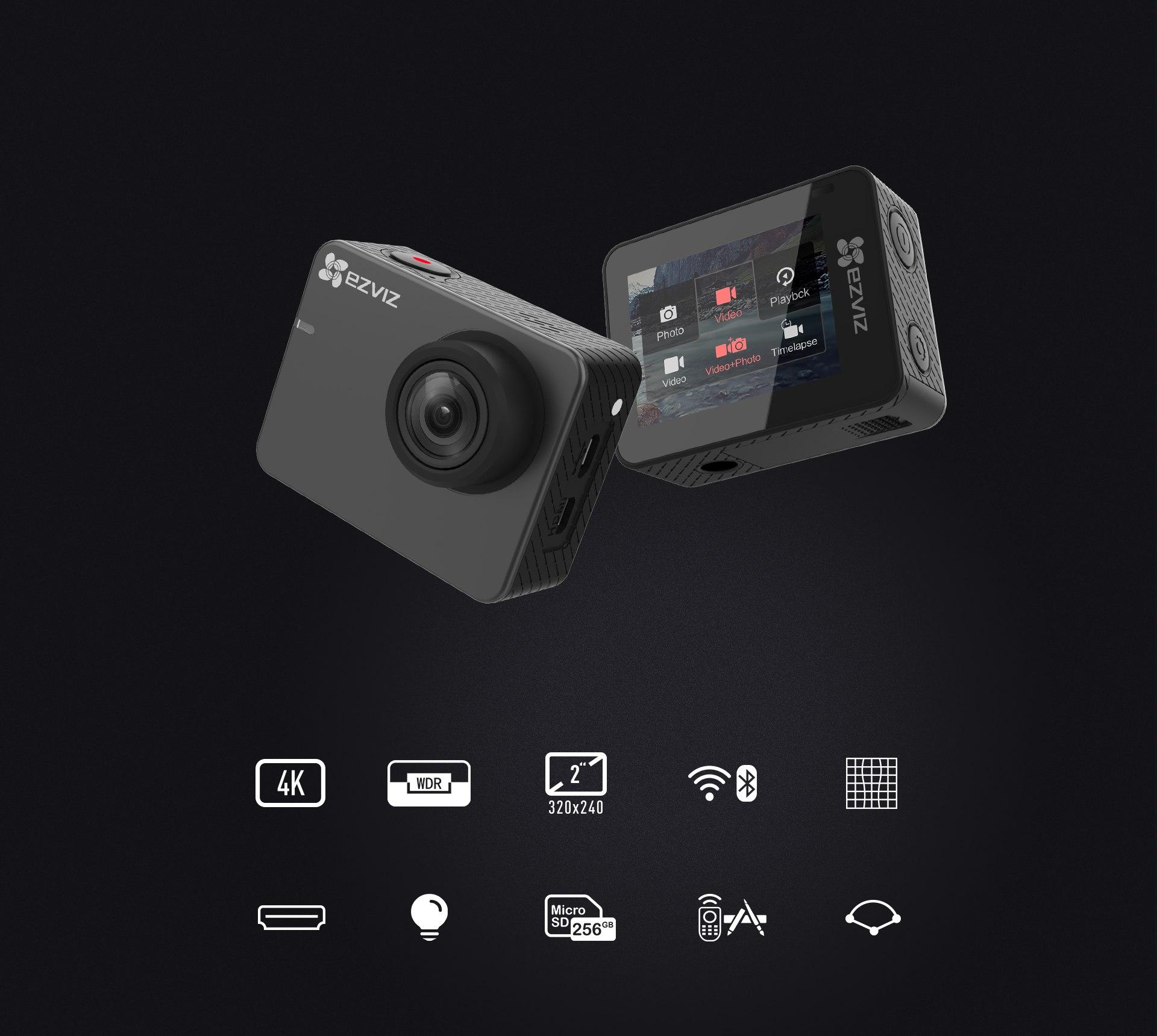 Camera hành trình 4K S3 (Grey) CS-SP206-C0-68WFBS