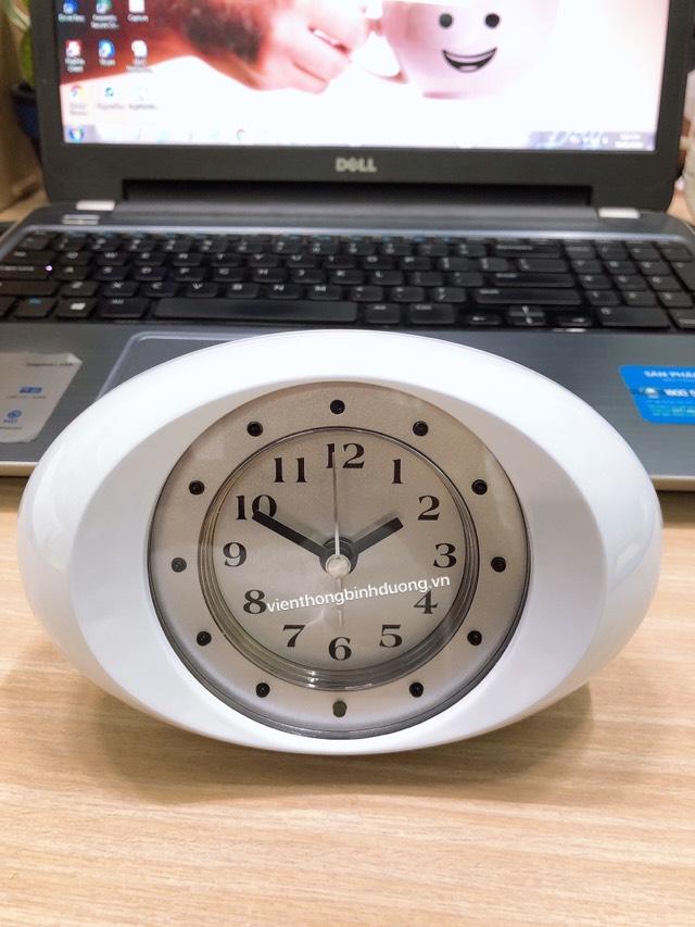 Camera wifi dạng đồng hồ để bàn