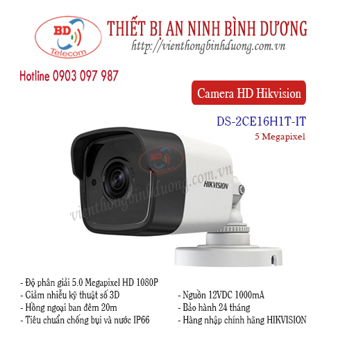 Camera Hikvision 5.0 Megapixel DS-2CE16H1T-IT