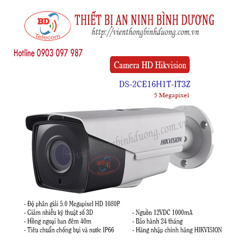 Camera Hikvision 5.0 Megapixel DS-2CE16H1T-IT3Z
