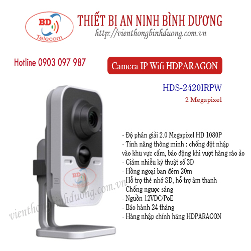 Camera IP Wifi 2M HDS-2420IRPW
